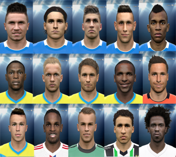 Update Wajah Pemain Bundesliga untuk PES 2015