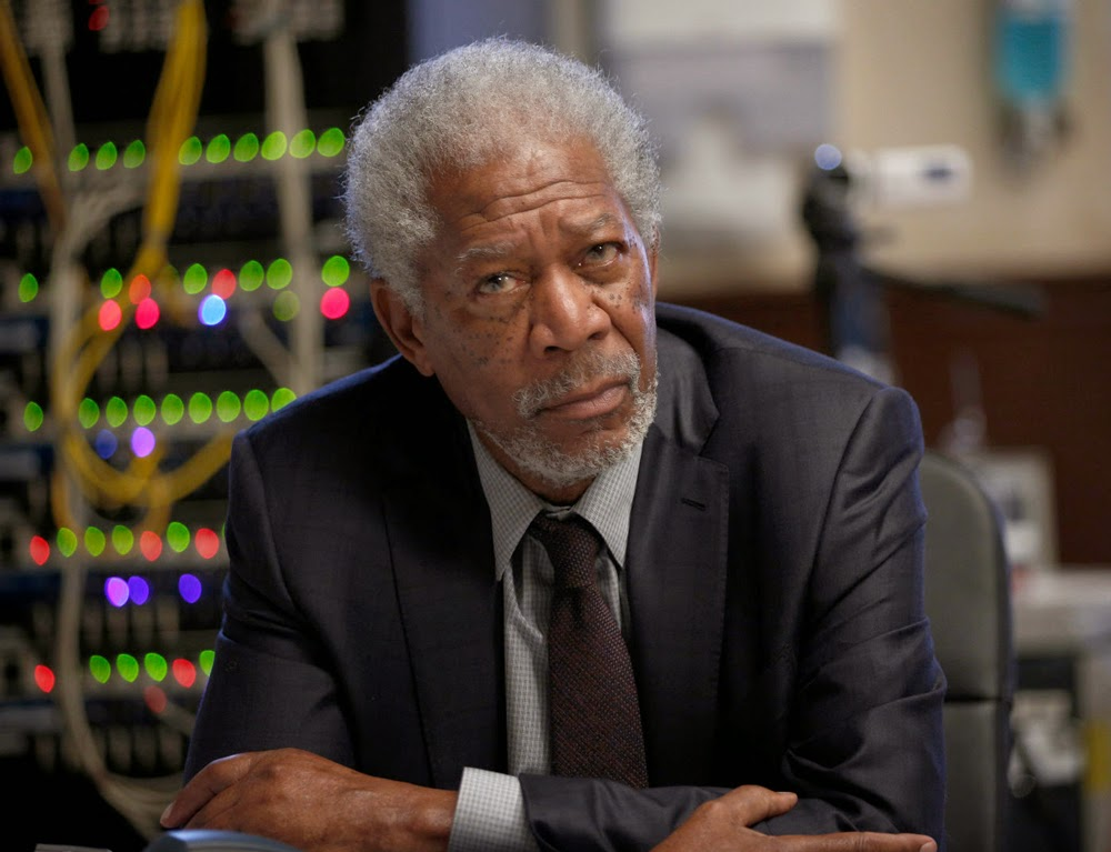 Morgan Freeman in Lucy (2014)