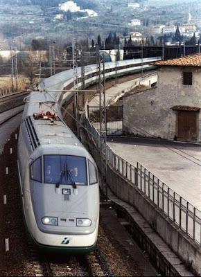 ETR 500 o Elettro Treno Rapido, Italia