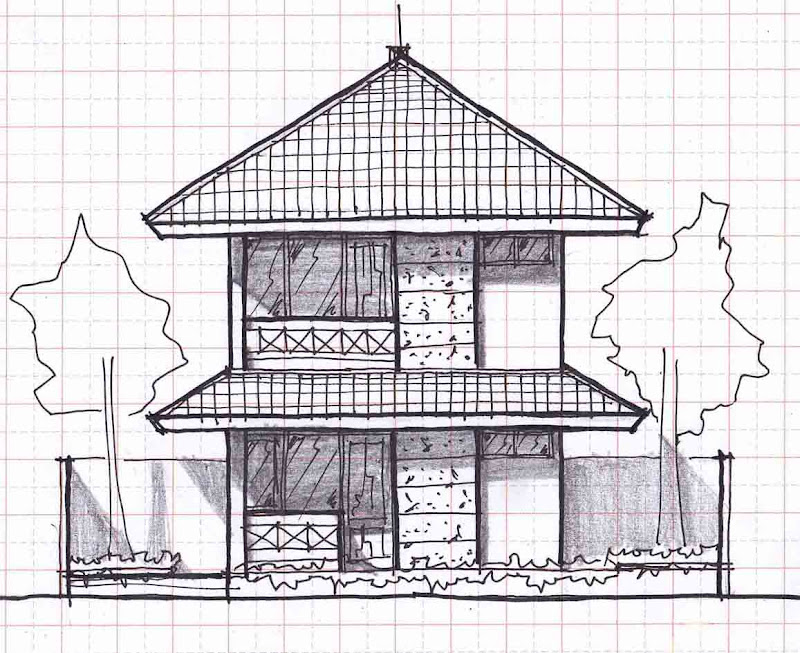 SMALL TWO-STORY HOUSE PLANS 12MX20M title=