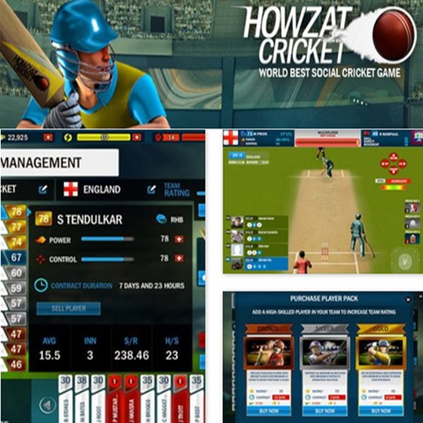 Howzat Cricket Facebook