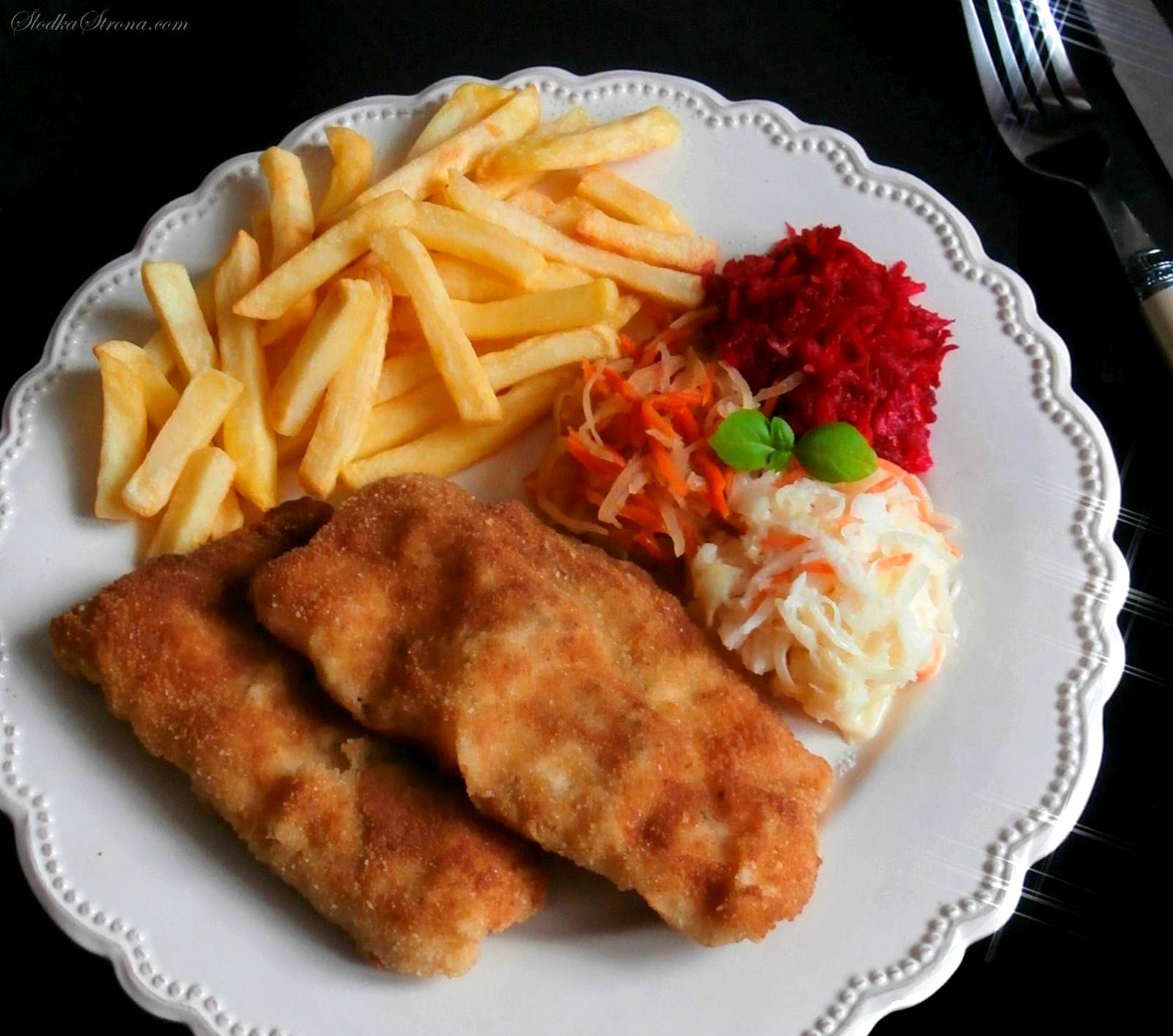 Tradycyjna Smażona Ryba w Chrupiącej Panierce - Przepis - Słodka Strona