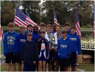 Knight Boys Second at Jesse Owens Classic Cross Country 1