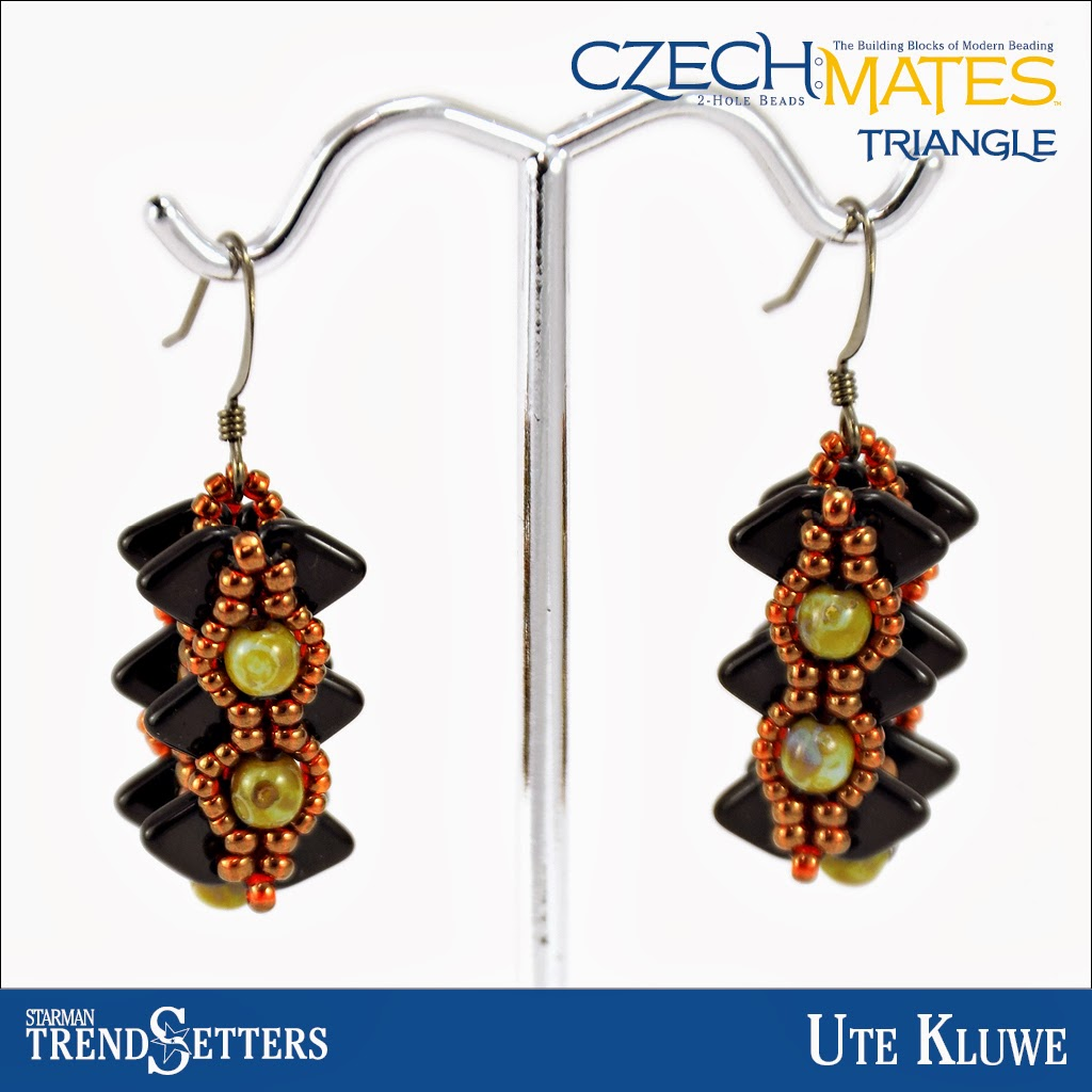 CzechMates Triangle earings by Starman TrendSetter Ute Kluwe