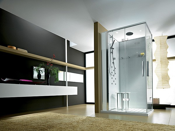 New home designs latest modern homes modern bathrooms designs Simple contemporary bathroom design