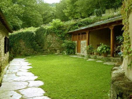 jardines de casas fotos