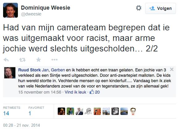 Dominique Weesie schuift schuld af naar medewerkers PowNed