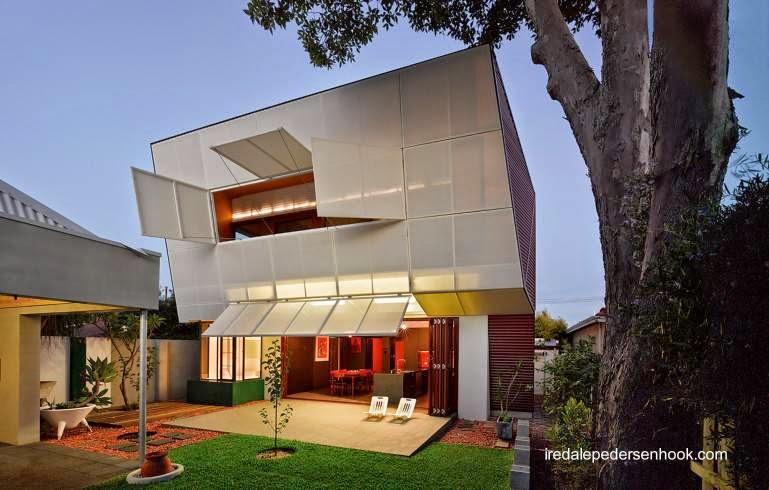 Extremo rediseñado de una casa australiana de los años 30