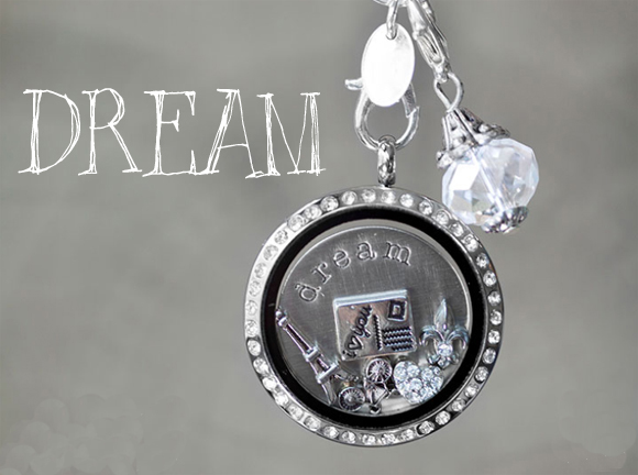 Dreams Come True Origami Owl Locket