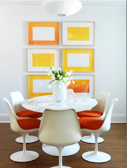 decorating Decoração e Cores para Sala de jantar 2013
