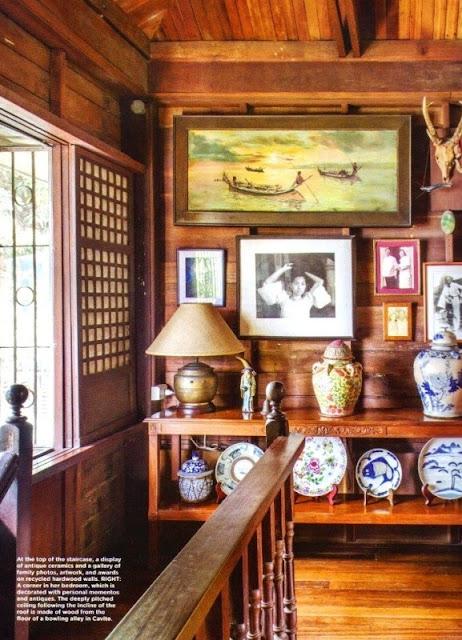 Гостиная в тайском стиле