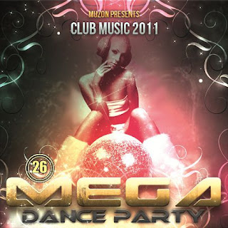 mega%2Bdance%2Bparty%2B26 - CD Mega Dance Party 26 2011