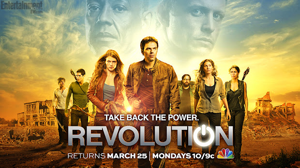 Revolution Poster - Take Back the Power
