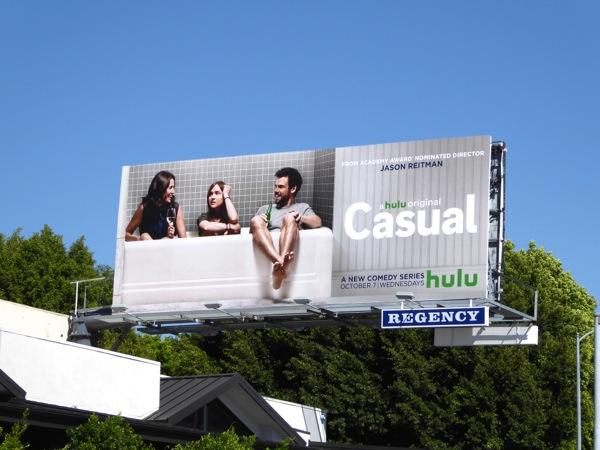 Casual series premiere billboard