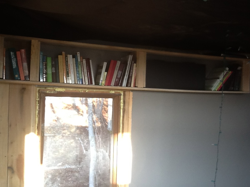 Providence Mountain Farm Tiny House Book Shelf