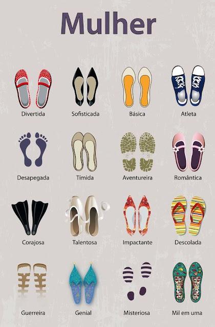 Os sapatos definem a personalidade da mulher que os usa?