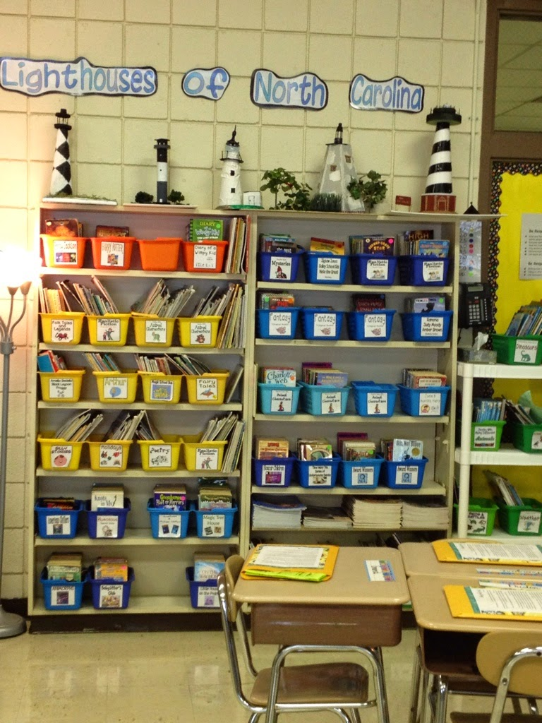 Decorating Elementary Classrooms ~ Mixing it up in middle elementary classroom decorating