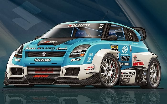 Galeri Foto Modifikasi Mobil Suzuki Swift Sporty Terbaru 2014