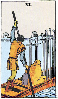 Tarot Deck | 6 of Swords