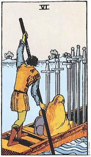 Tarot Deck | 6 of Swords