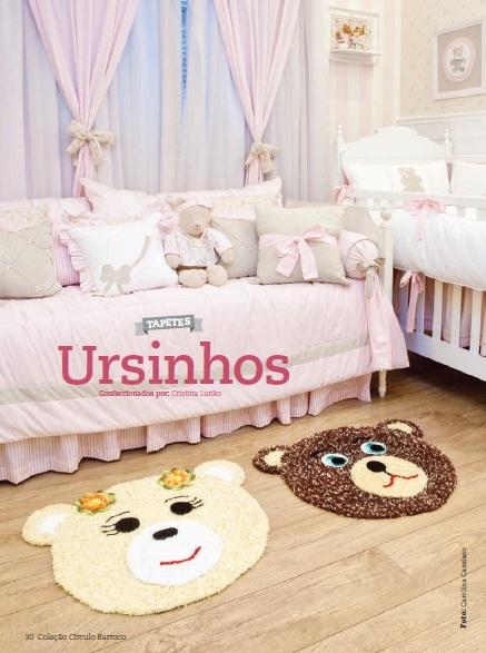 tapete infantil com Barroco Soft da Circulo ~ Tapete Infantil Para Quarto Urso