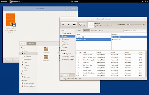 Fedora 20 screenshots