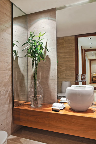 Hora de arrumar lavabos com estilo for Decoracion de lavabos pequenos