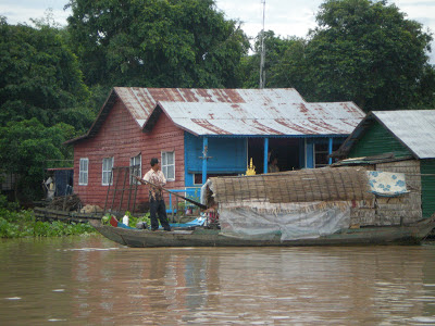 A Cruise on the Mekong River in Cambodia