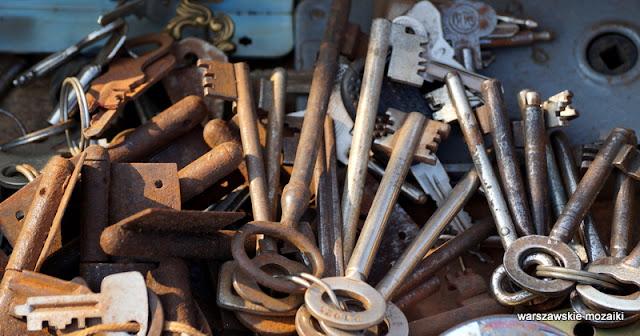 klucze Warsaw Warszawa bazary Wola targ staroci kolekcjonerzy starocie