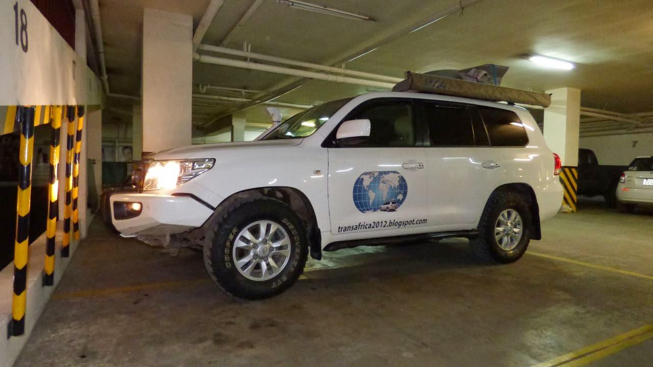 Danke Toyota La Paz! Der Land Cruiser ist wieder voll im Schuss und bereit für weitere Abenteuer!