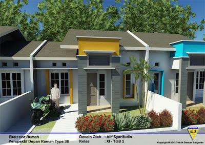 inspirasi tips desain rumah minimalis type 36 untuk