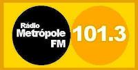 ouvir a Rádio Metrópole FM 101,3 ao vivo e online Salvador