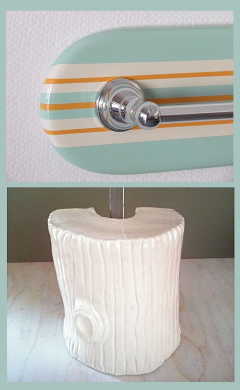 Handmade bathroom accessories