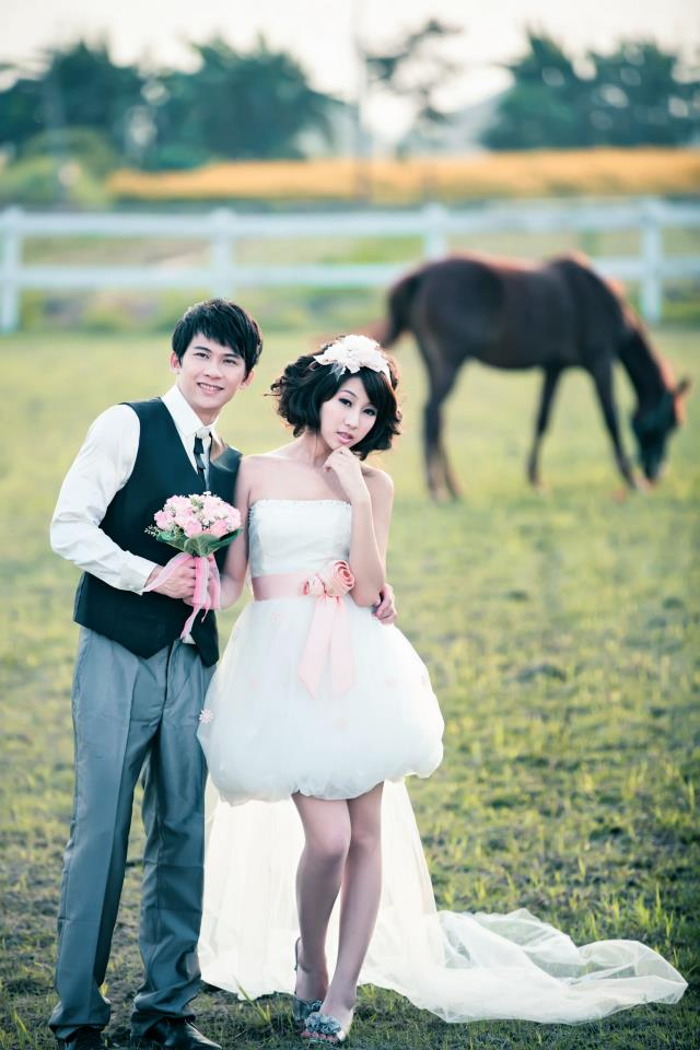 wedding shoot with horse, equesterian