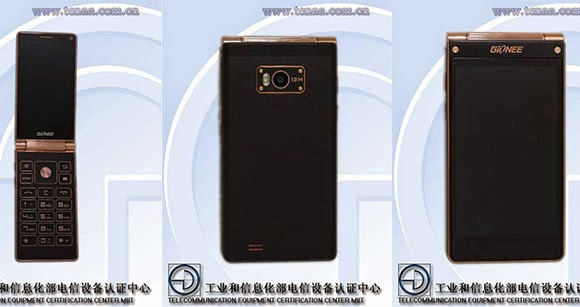 Gionee W900 with Two 1080p Displays