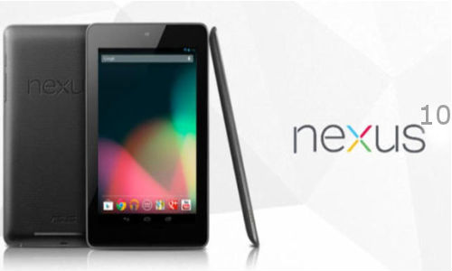 Nexus 10, Tablet With High Resolution Screen 2560 x 1600 pixels