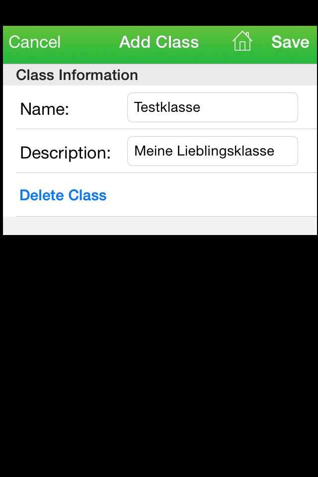 Trägheit der Klasse?