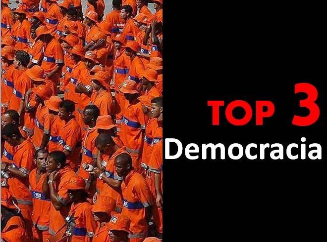 Top 3 - Democracia