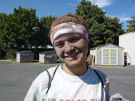 Meg Color Run 5k Sept 16, 2012