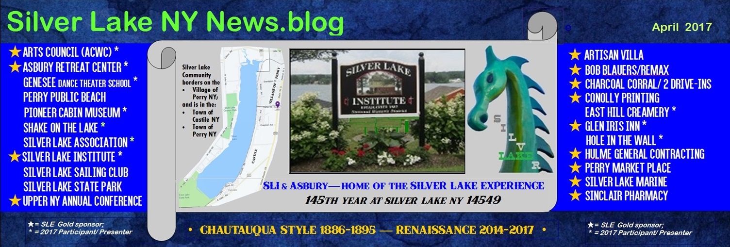 Silver Lake NY News - Wyoming County - Perry - Castile<br>Silver Lake Institute, Silver Lake, NY