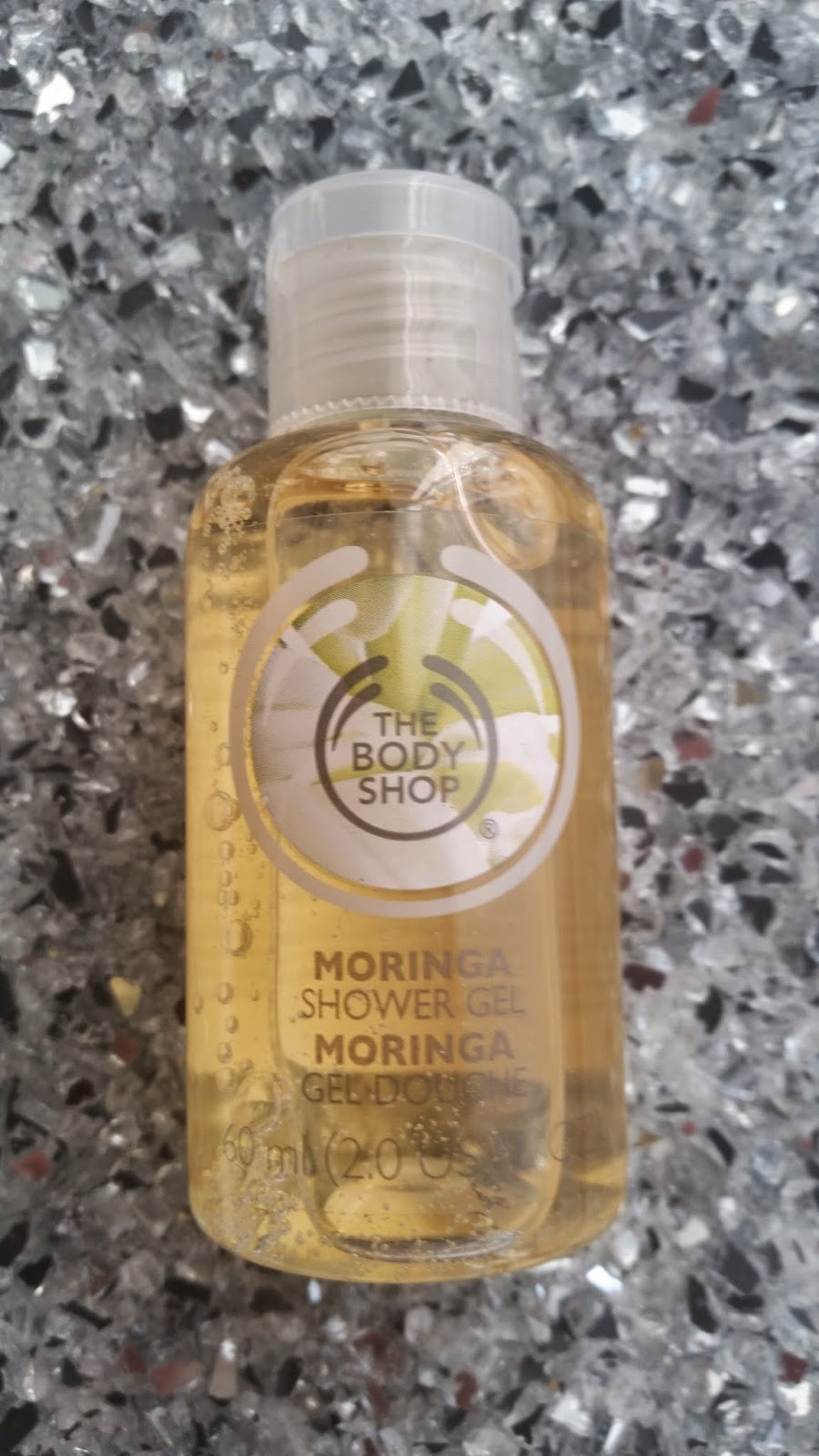 The Body Shop - Moringa Shower Gel - www.annitschkasblog.de