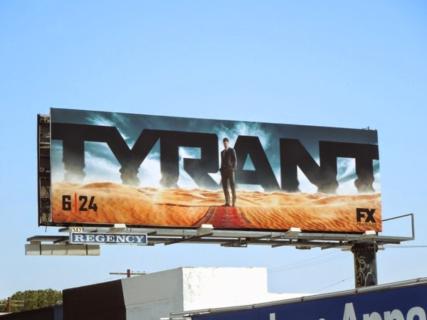 Tyrant season 1 FX billboard