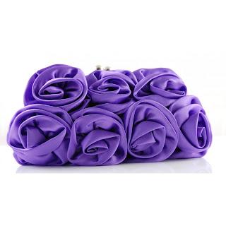 purple violet bag