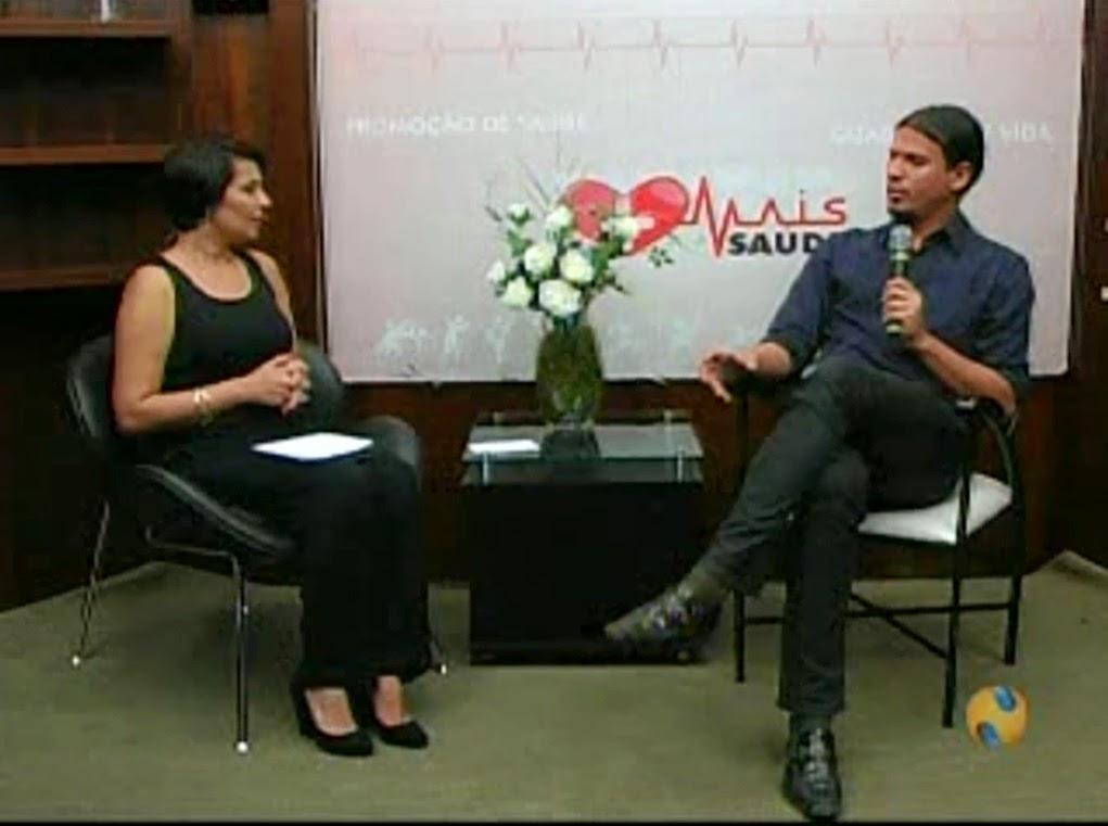 Entrevista na NTV - Lucas André de Paula: Dependência Química 1