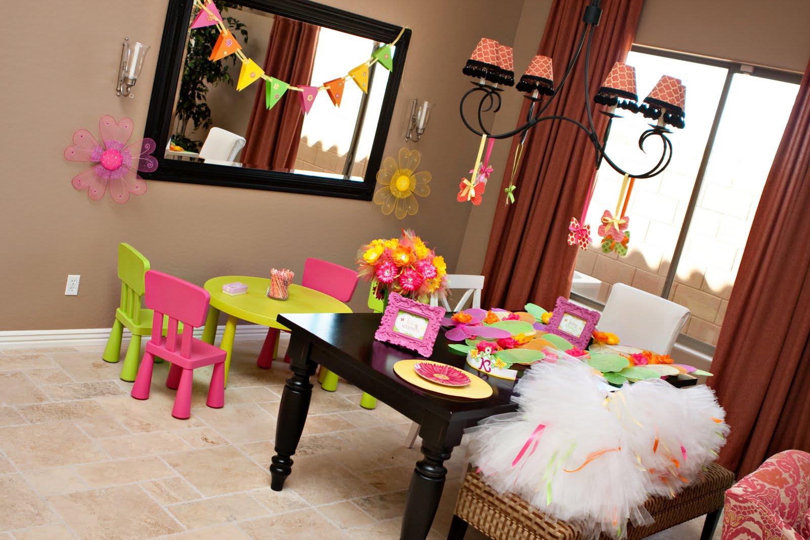 Идеи детского праздника дома