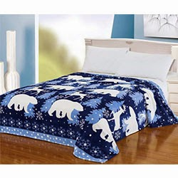 Bedding Cute Polar Bear Reindeer King