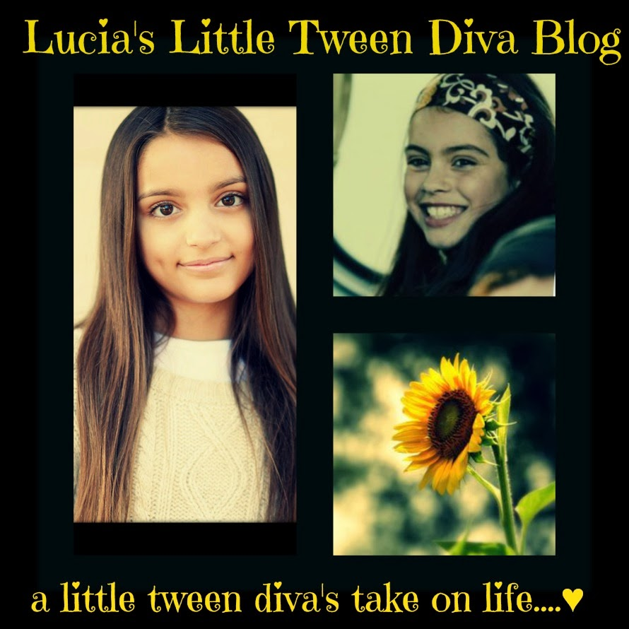 check out my step niece Lucia's blog!