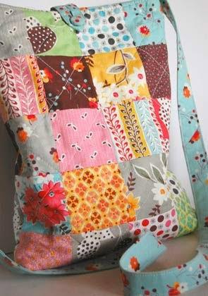 bolsas de patchwork passo a passo