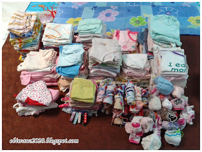 pakaian keperluan bayi