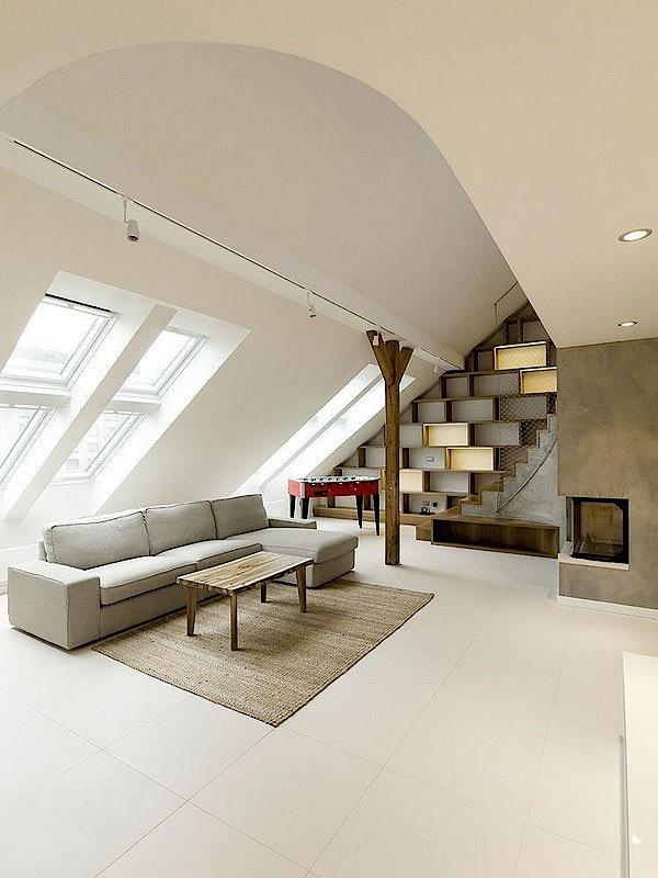 interior design ideas for the attic room view home design